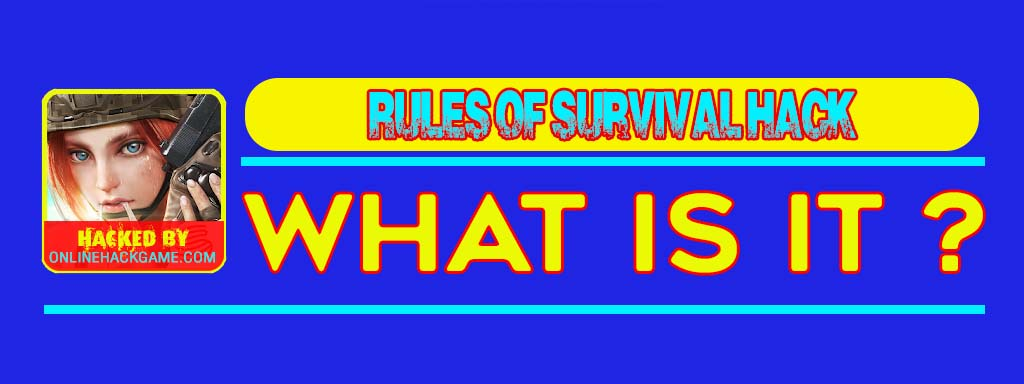 Rules of Survival Hack What is it