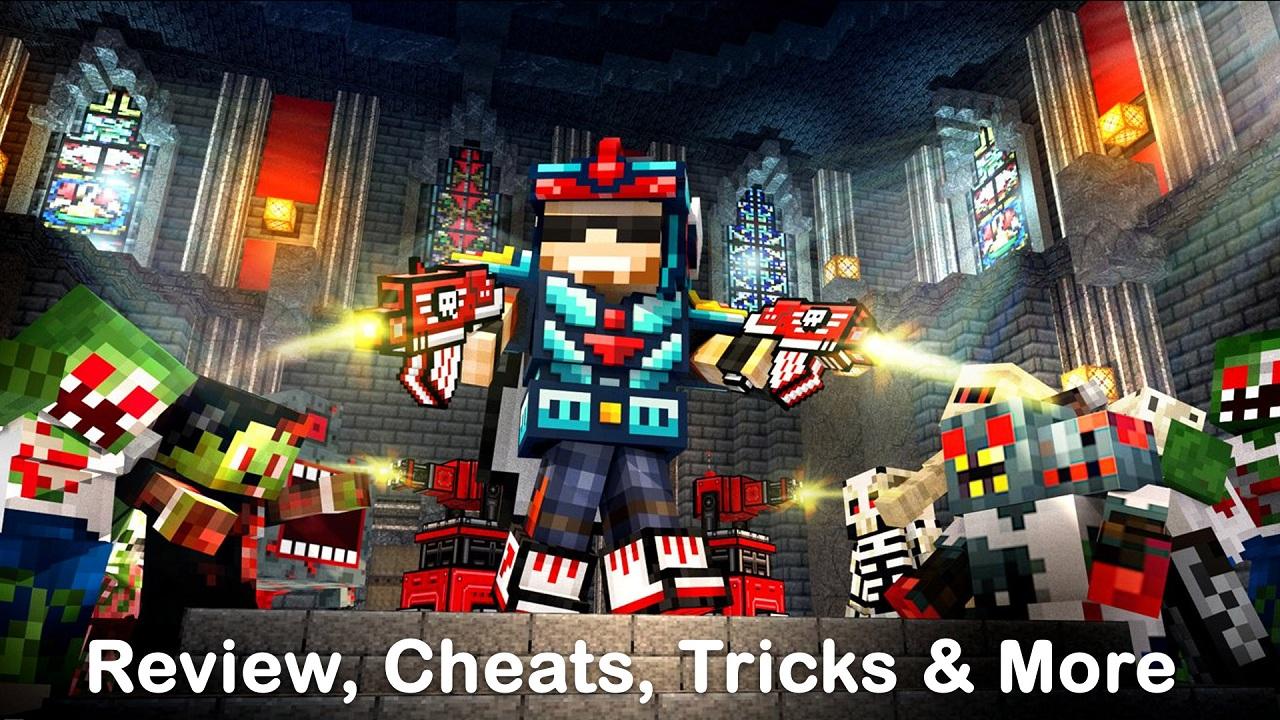 Pixel Gun 3D Cheats Online 2018