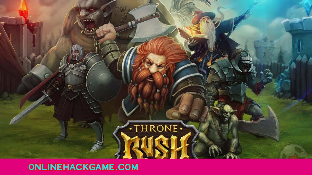 Throne Rush Hack - ONLINEHACKGAME