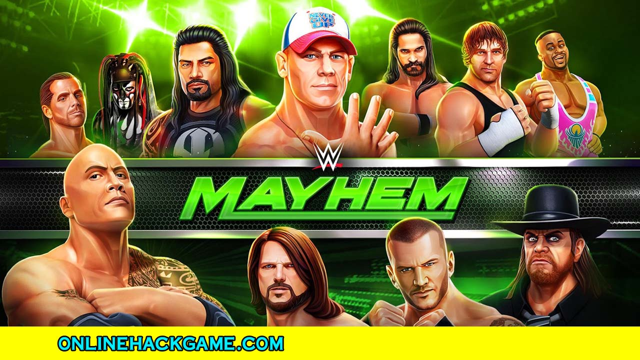 WWE Mayhem Hack - ONLINEHACKGAME