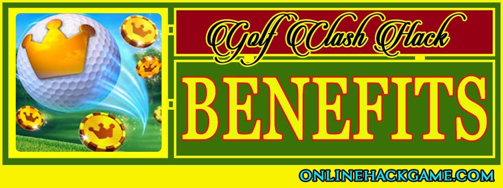 Golf Clash Hack - Benefits