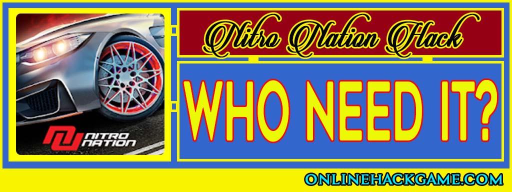 Nitro Nation Hack - Who need it