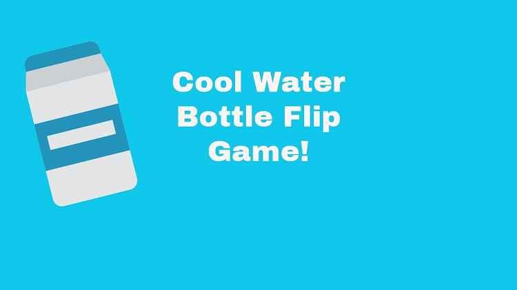 Flip Water Bottle Hack