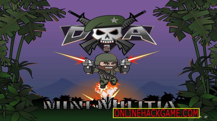 Doodle Army 2 Mini Militia Hack Cheats Unlimited Battle Points