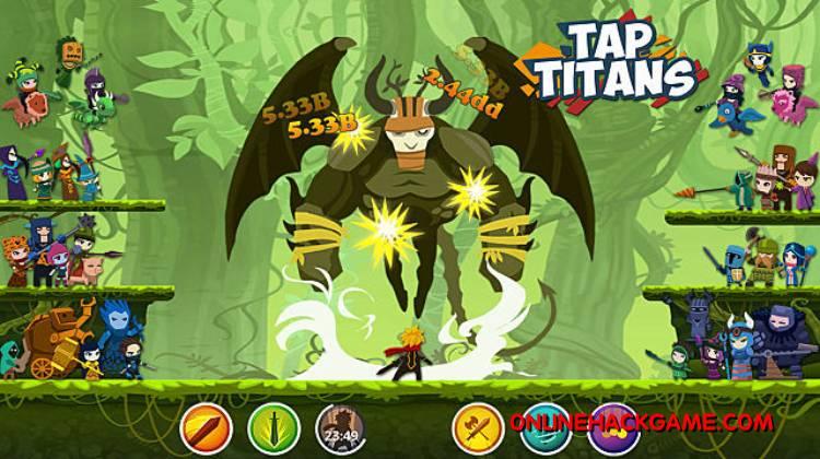 Tap Titans Hack Cheats Unlimited Diamonds